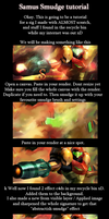 Samus smudge tutorial by N-95