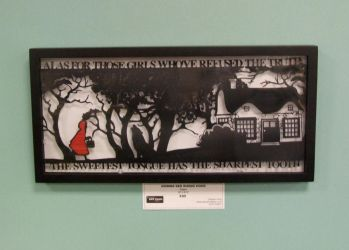 Grimms Red Riding Hood Papercut by ladysilver2267