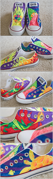 caitlyn's custom kicks by moolis