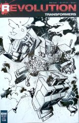 Revolution Transformers sketch cover Pan Vlamis by weaselpa
