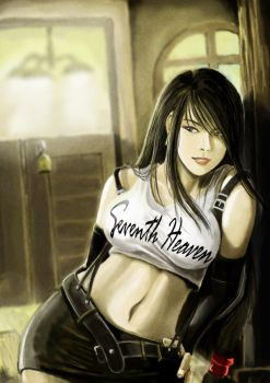 Tifa: Girl From Seventh Heaven by RacoonFactory