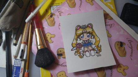 Princess Sailor Moon Chibi by SarahsPlushNStuff