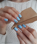 Summer nails for my friend by ladymarengo