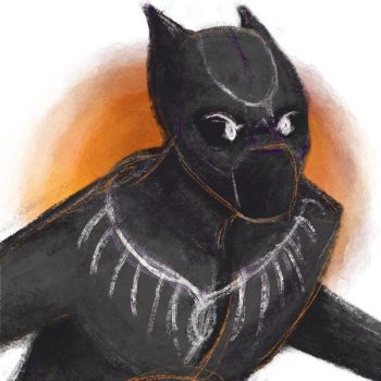 Black Panther by Grace-Dupre