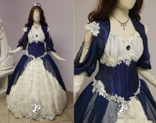 Ravenclaw Bridal Gown by Firefly-Path