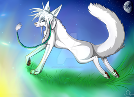 under at my world by White-Wolf-me
