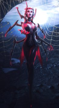 Elise The Spider Queen by VanillaBear3600
