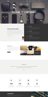 MORE - Creative One Page WordPress Theme by webdesigngeek