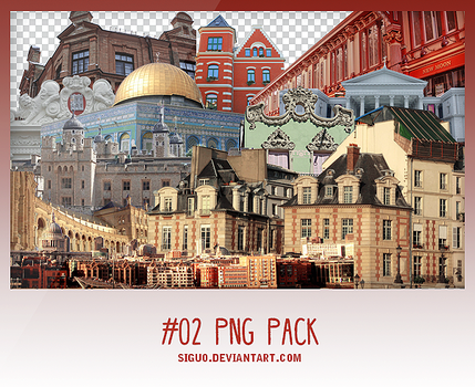 #02 Png Pack by Pai by Siguo