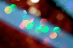 rainbow bokeh by miss-deathwish-stock