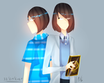 [me in real life and mascot] by pakwan02
