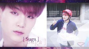 Suga wallpaper (PC version) - For You by NikS3