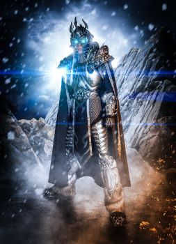 ARTHAS LICH KING COSPLAY by Priscillascreations