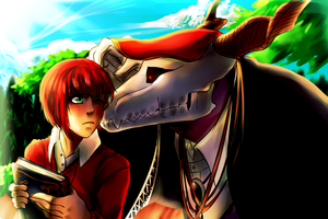 F: The Ancient Magus Bride by Anorha-Nono