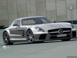 Mercedes SLS Black Series by chopperkid44