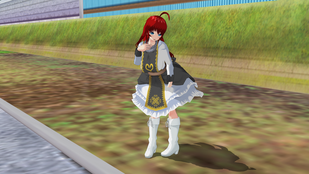 My Second Attempt to make Rias Gremony by UnknownGuy10