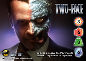 Two-Face (Harvey Dent) Character by overpower-3rd