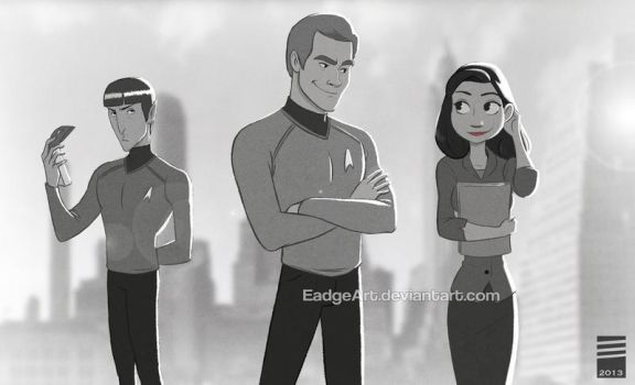 Paper STAR TREK by EadgeArt