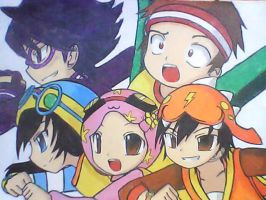 BoboiBoy and the Gang by MarionetteJ2X