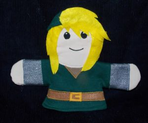 Link Hand Puppet by AbleSistersFanCrafts