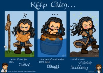 Keep Calm Thorin II by SusiKISS