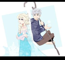 Snowship [ROTG Frozen] by aidmoon
