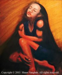 Sade oil painting by spvaughan