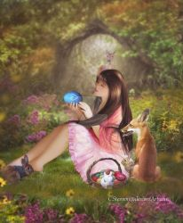 The Easter Egg by cherie-stenson