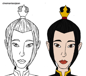 Azula's face by cinemaniacojean