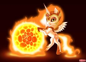 Sunball by WWRedGrave