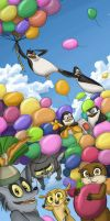Balloons for the children all over the world! by OrsaTheSimurgh