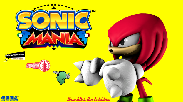 Sonic Mania Wallpaper (Knuckles) by G-ManMobius
