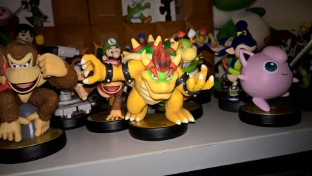 Bowser Amiibo by Sythnet