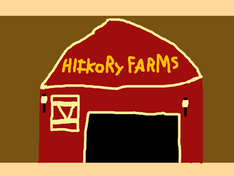 Hickory Farms mall store front by PikachuxAsh
