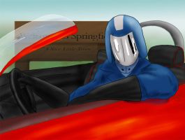 Cobra Commander's Day Off by Nala15