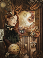 Steampunk-Dreams by EnchantedWhispersArt