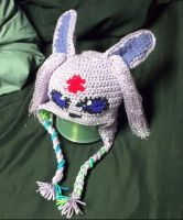 Espeon with longer fluff by TinyHatter