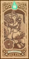 Berry-Bazaar Tarot: Major Arcana 03 by LizzyJun