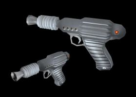 Standard Issue Raygun by Abyssal-Specter
