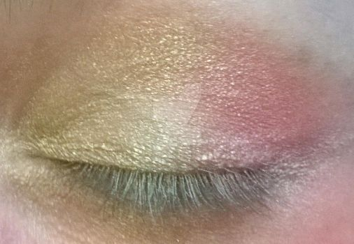 MLP Themed Eye Shadow Experiment: Fluttershy by alicedoomsday