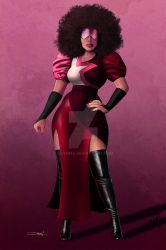 Garnet from Steven Universe by SOYOMA