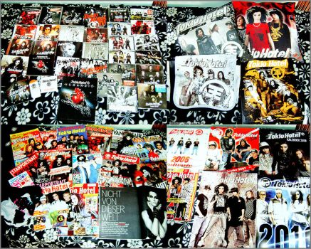 My Tokio Hotel Collection by tokiobsession