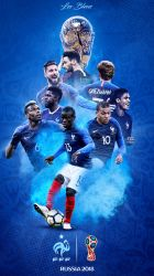 France World Cup 2018 Russia Phone Wallpaper by GraphicSamHD