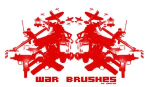 War Brushes by ardcor