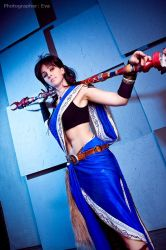 Final Fantasy XIII: Oerba Yun Fang. Wanna fight? by ElenaLeetah