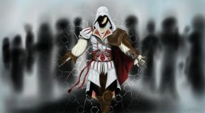 Ezio - Assassin's Creed 2 by Skullvonavich