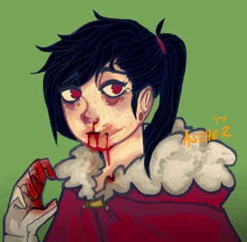(Bloody Nose) by Asche-r