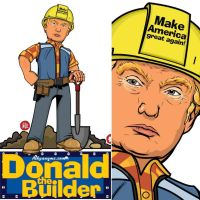 Donald The Builder by akyanyme