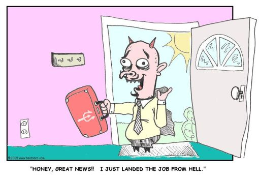 the devils day has come by bentoons