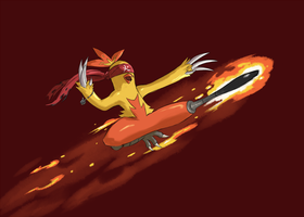Combusken by Scribblehatch